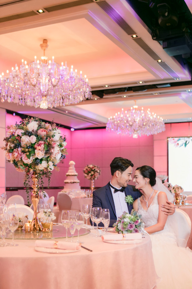 香港金域假日酒店 Holiday Inn Golden Mile Hong Kong  婚宴擺酒 @ 婚享會 Bespoke Wedding