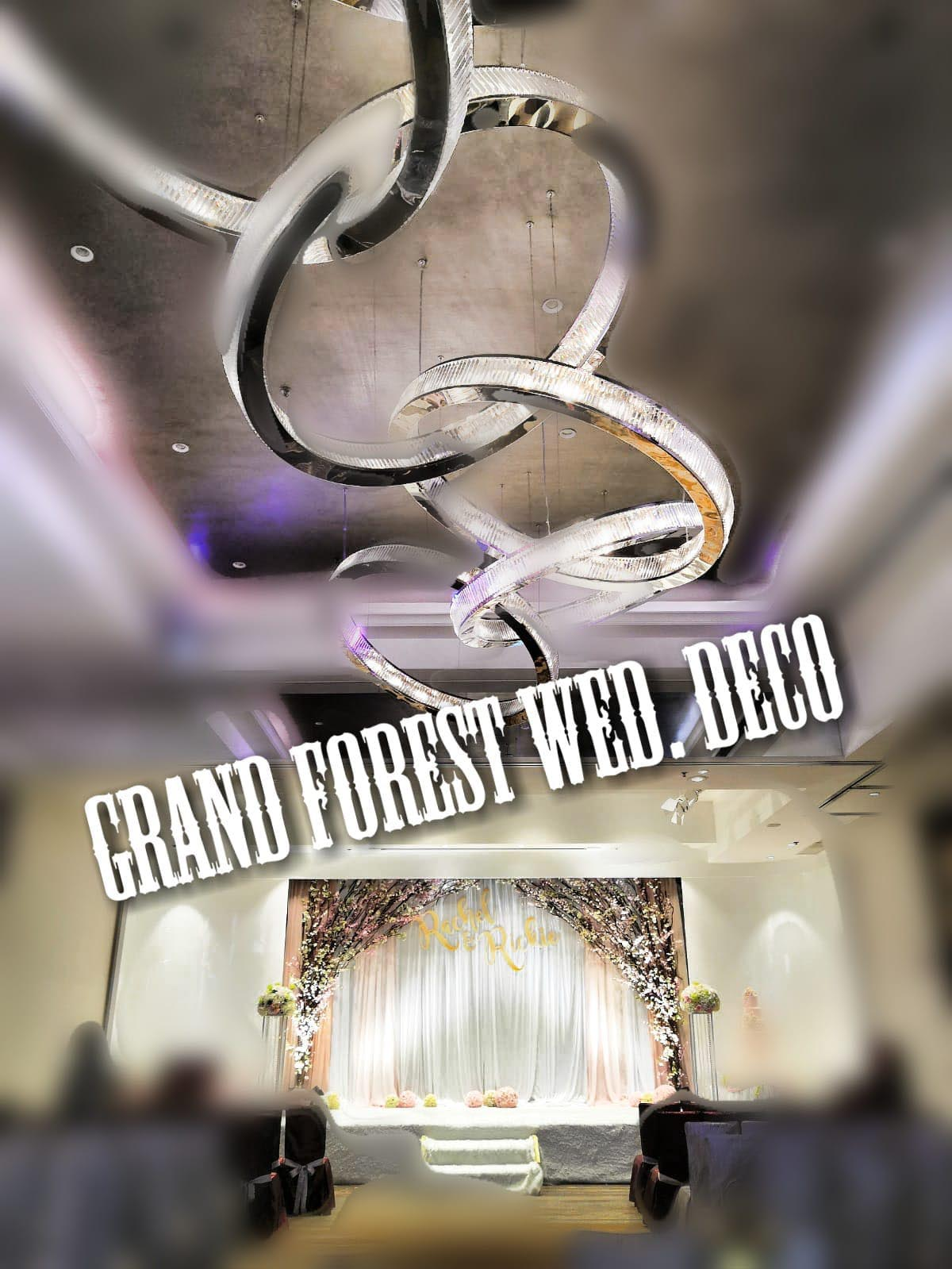 Grand Forest Event Deco